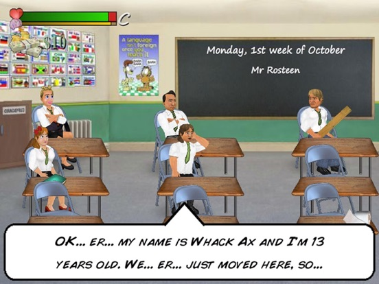 School Days HD на iPad