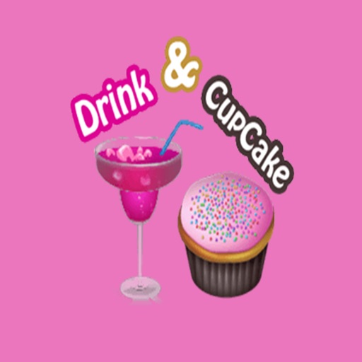 Drink Cupcake Stickers Pack For iMessage
