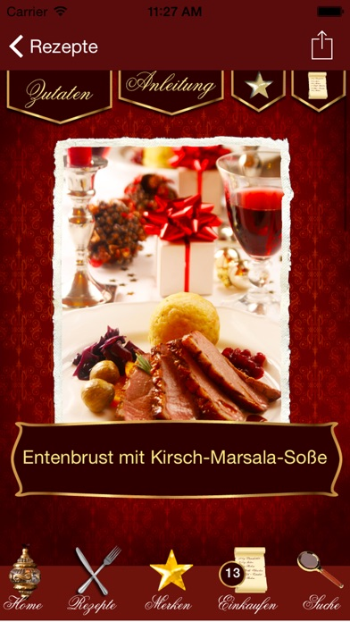 Screenshot for Weihnachts-Rezepte - Weihnachtsmenü & Rezepte in Germany App Store