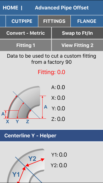 Pipe Fitter Calculator review screenshots