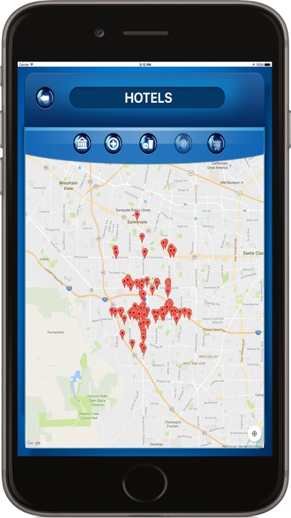 Camarillo Area (CAT) California USA where is Bus screenshot-3