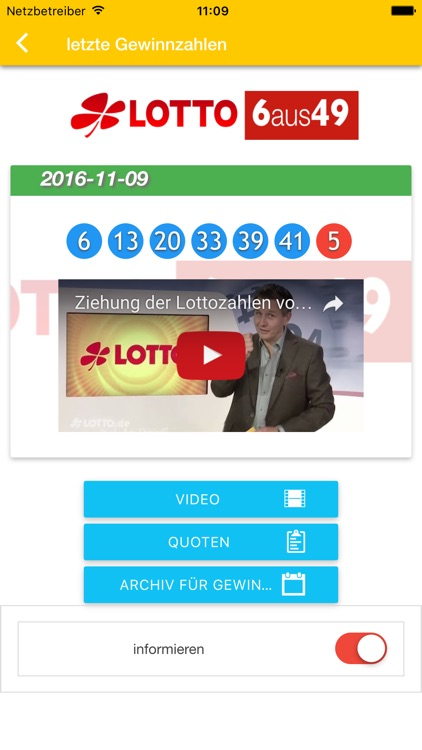 Germany Lotto Result Check - AVAXN Euro by HSIN HAN WU