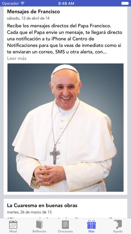 Misal de España - Catolicapp.org screenshot-0
