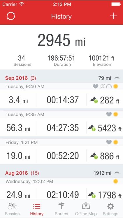 Runtastic Road Bike GPS Cycling & Ride Tracker
