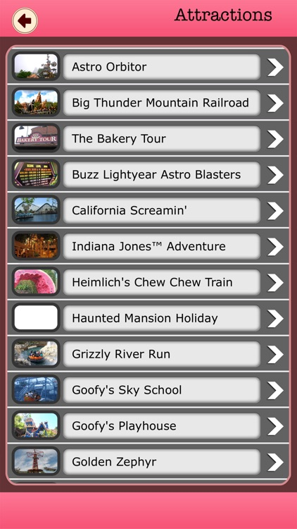 Best App For Disney Land Offline Guide screenshot-2