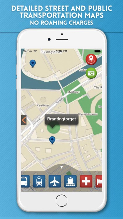 Stockholm Travel Guide with Offline Map & Metro screenshot-3