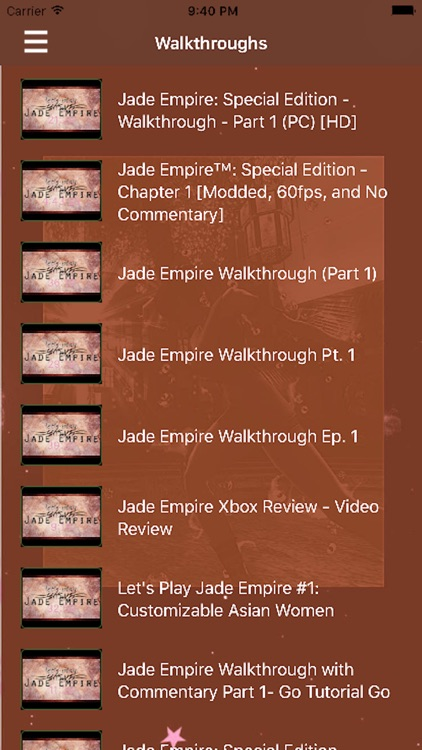 Complete Guide for 'JADE-EMPAIR' screenshot-4