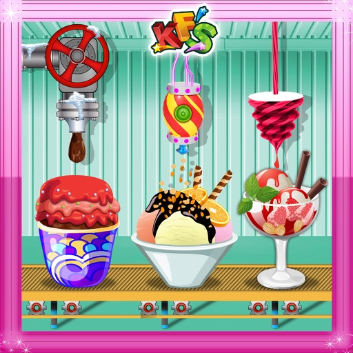 Ice cream Factory 2- Frozen Food Cooking fun game
