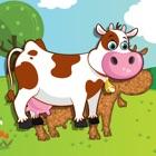 Пазлы с животными для младенцев и детей icon