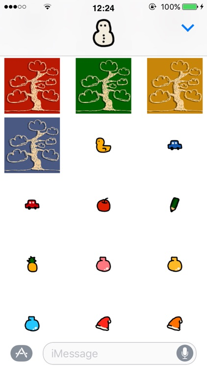 Christmas Tree Craft GIF stickers screenshot-2