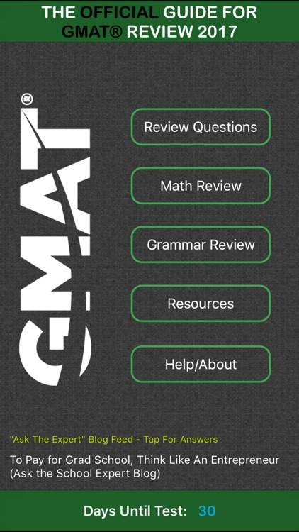 The Official Guide for GMAT® Review 2017
