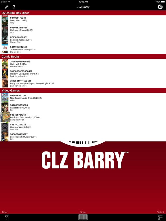 Screenshot #6 pour CLZ Barry - Wireless Barcode Scanner