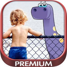 Your photo with dinosaurs - Premium