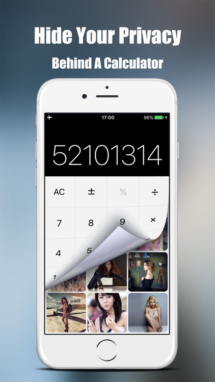 PriVault - Private Photo Vault, Hide behind a calculator your secret videos, photos and files; Voice memo & recorder
