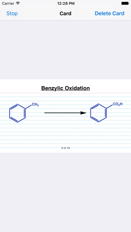 Learn Organic Chemistry Reaction Cards LITE screenshot-3