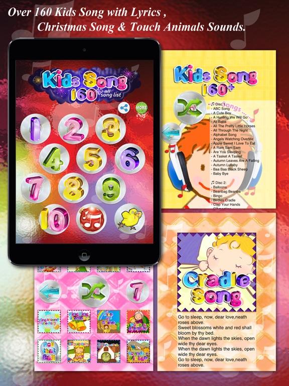 Kids Song -Over 160 English Kids Song With Lyrics screenshot ... 8588b74415a