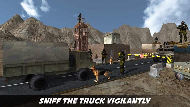 Sniffer Dog Agent : Help Border Patrol Agency USBP screenshot-4