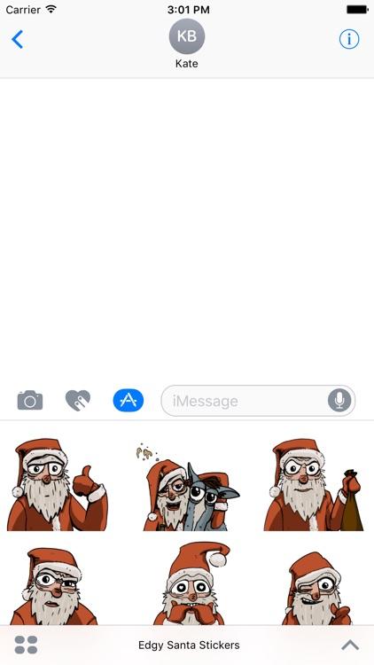 Edgy Santa