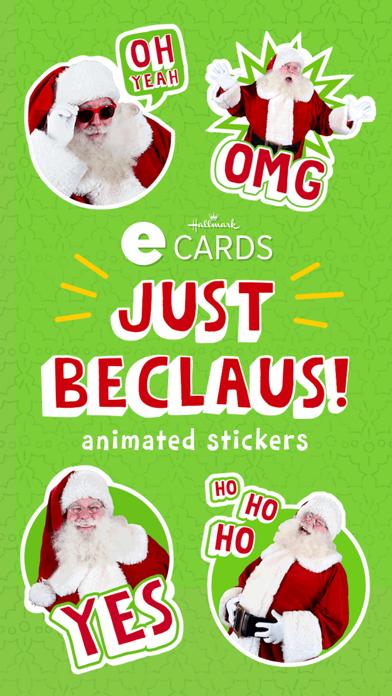 Just BeClaus - Animated Christmas Santa Stickers Screenshot