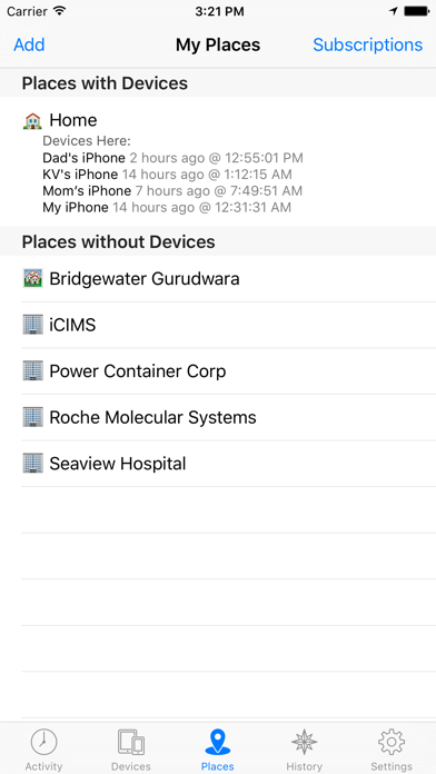 Device Locator review screenshots
