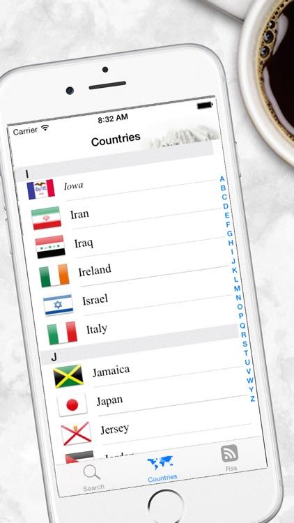 World Newspapers the News Search Engine screenshot-3