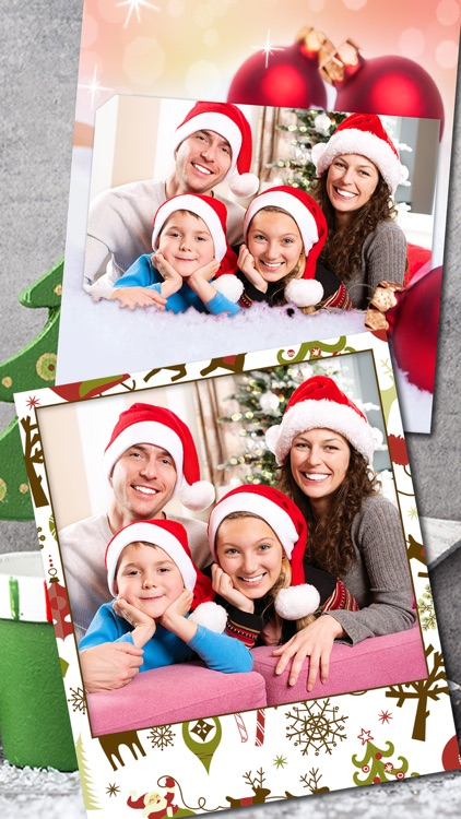 Christmas Photo Frames Album & Collage 2016 – Pro