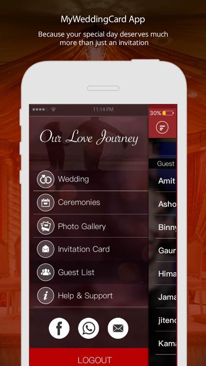 Myweddingcard app royal invitation by uxdd inc myweddingcard app royal invitation stopboris Image collections