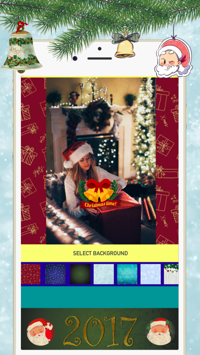 изготовлении редактор фото новогодний для айфона уготовано судьбой развитием