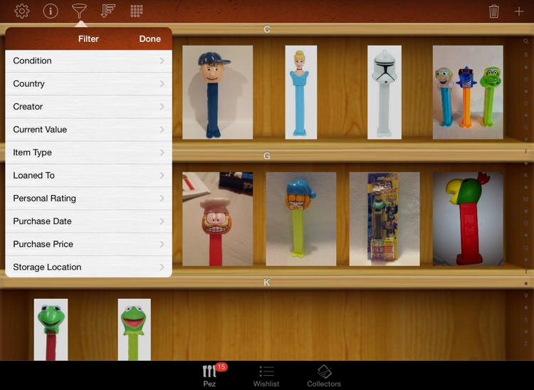 Pez Collectors for iPad screenshot-3