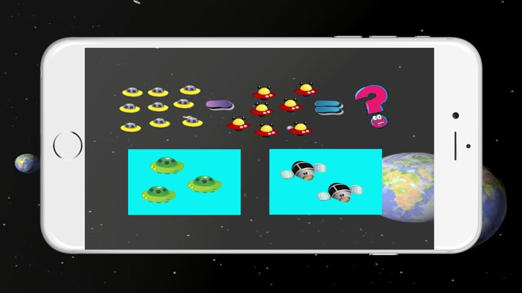 Monster Space Math : Addition And Subtract For Kid screenshot-3