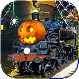 Train Driving - Halloween Games