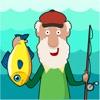 オールドマン釣り - 狩猟&時間に対する魚のレースをキャッチ