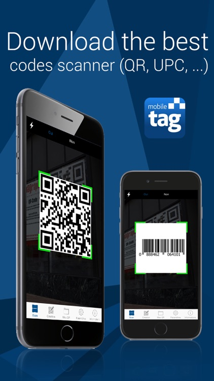 Mobiletag - QR Code Scanner screenshot-0