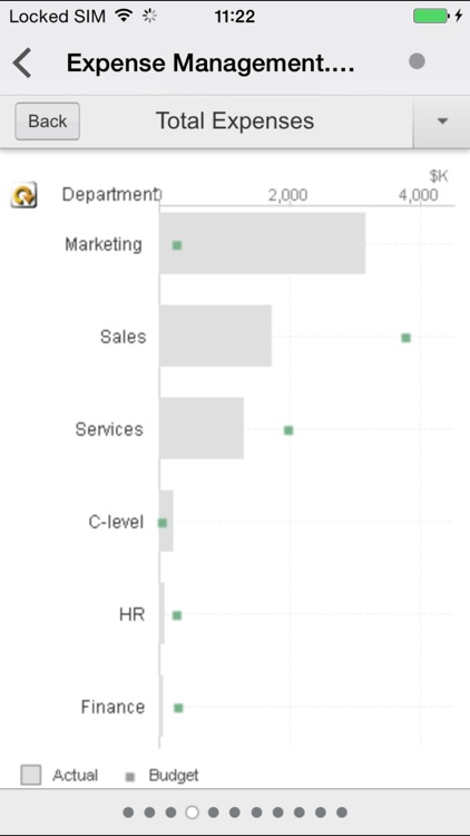 QlikView mobile screenshot-2