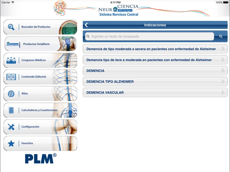PLM SNC Sudamérica for iPad