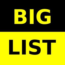 Big List