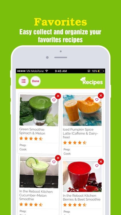Super-Healthy Smoothie Recipes screenshot-3