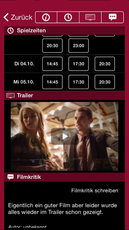 UCI KINOWELT Filme & Tickets screenshot-2