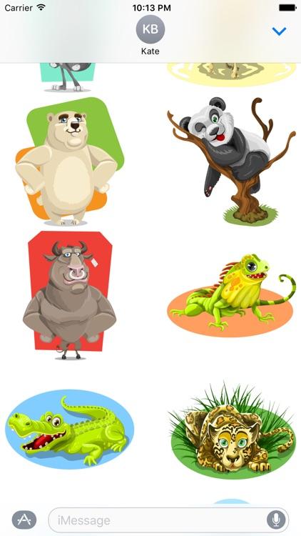 Wild Animals Stickers