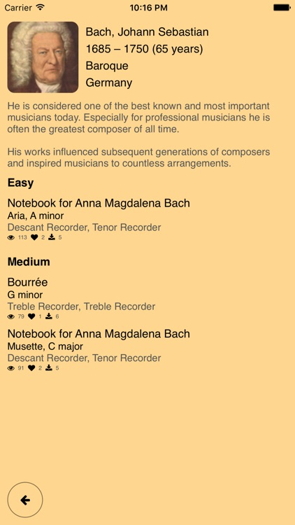 Recorder Duets – Notes for two Recorders