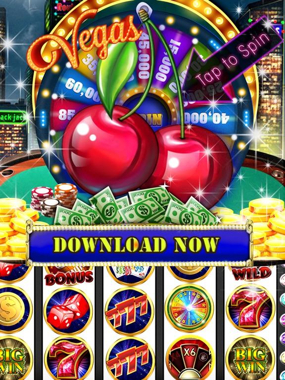 Downtown FORTUNE Slots Machines Free Vegas Casinos-ipad-1