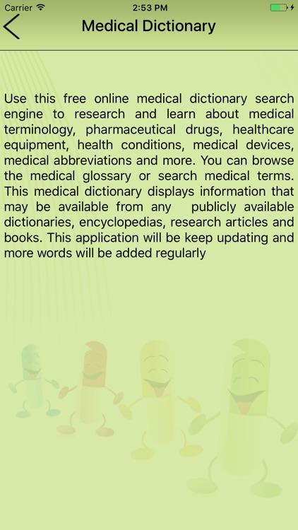 Best Medical Dictionary Offline! screenshot-4