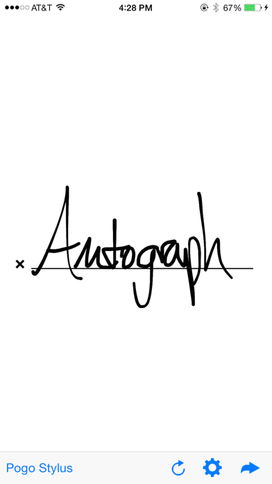 Autograph review screenshots