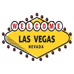 Las Vegas Stickers - Casino, Jackpot and Roulette