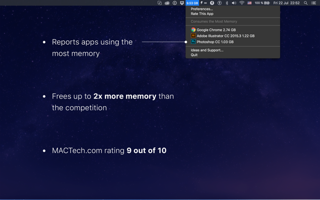 Memory Cleaner - Monitor and Free Up Memory Screenshot
