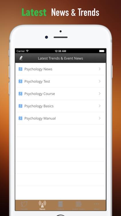 Psychology 101:Basics and Top News screenshot-3