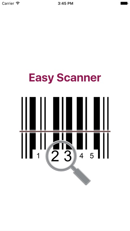 Easy Barcode Scanner
