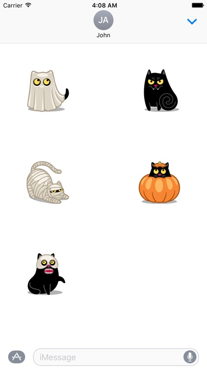 Costume Cat Premium Sticker Pack