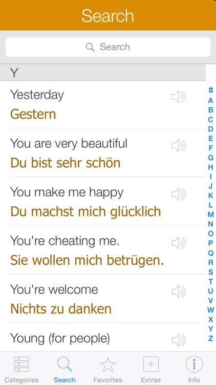 German Pretati - Speak with Audio Translation screenshot-3