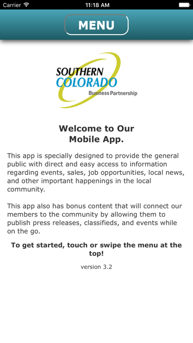 Southern Colorado Business Partnership screenshot one